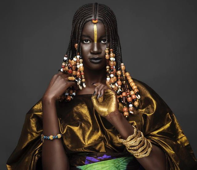 Empress of the day! Khoudia Diop is a Senegalese Queenhellip