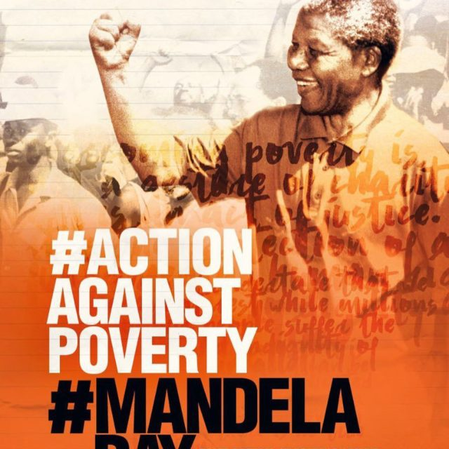 actionagainstpoverty MandelaDay Click the link in our bio to listenhellip