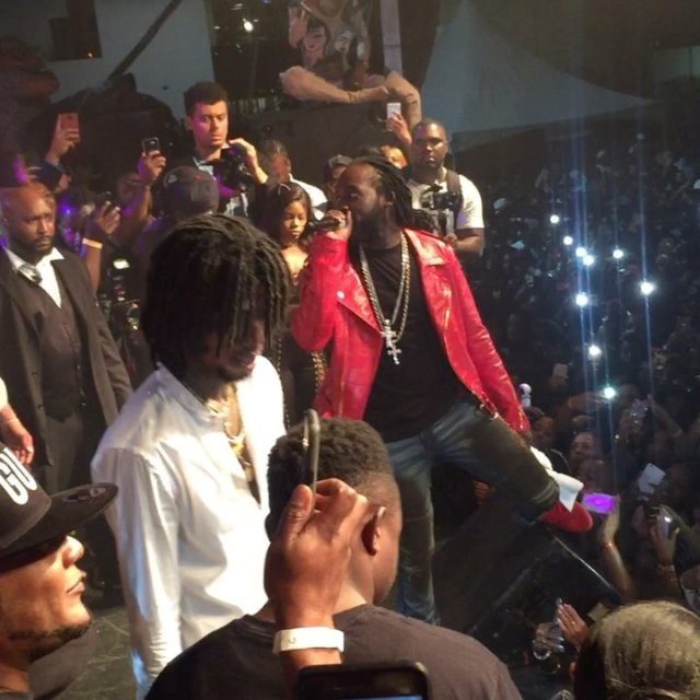 Mavado and Alkaline perform together at FreshFest justincaseyoumissedit Check outhellip